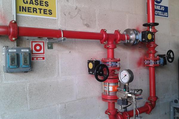 equipo proteccion contra incendios madrid
